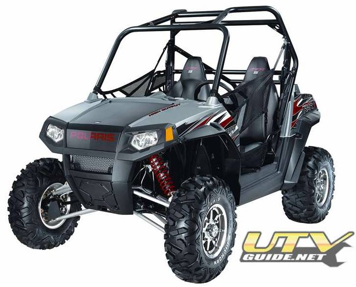 2009 Polaris RZR S with Factory Long Travel, Fox Shocks and Maxxis Bighorn Tires