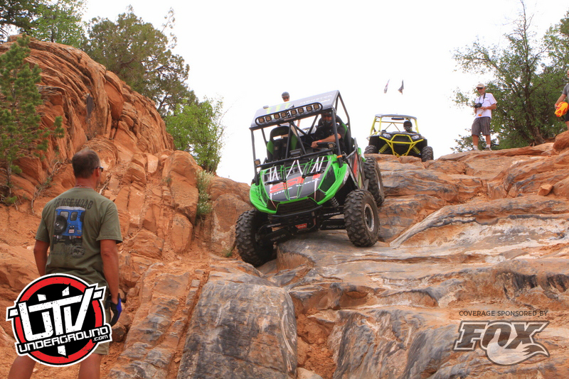 Kawasaki Teryx on High Dive - Behind the Rocks