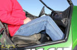 Arctic Cat Wildcat Passenger Legroom