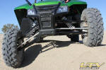 Arctic Cat Wildcat Front Suspension Articulation