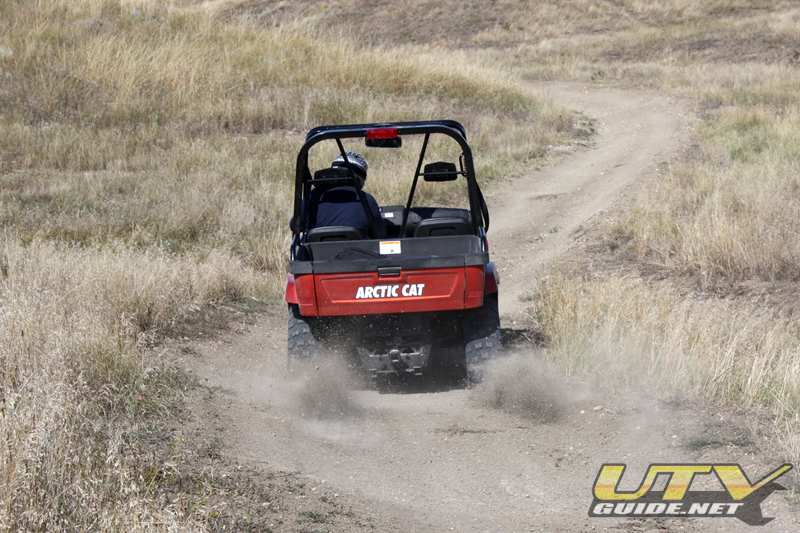 Top speed on an Arctic Cat Prowler is incredible