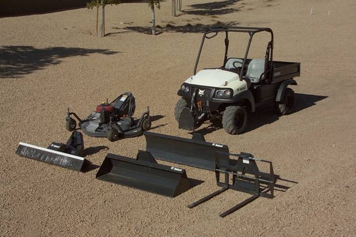 Bobcat RapidLink attachment system