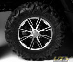 27-inch (66cm) Maxxis Bighorn 2.0 tires