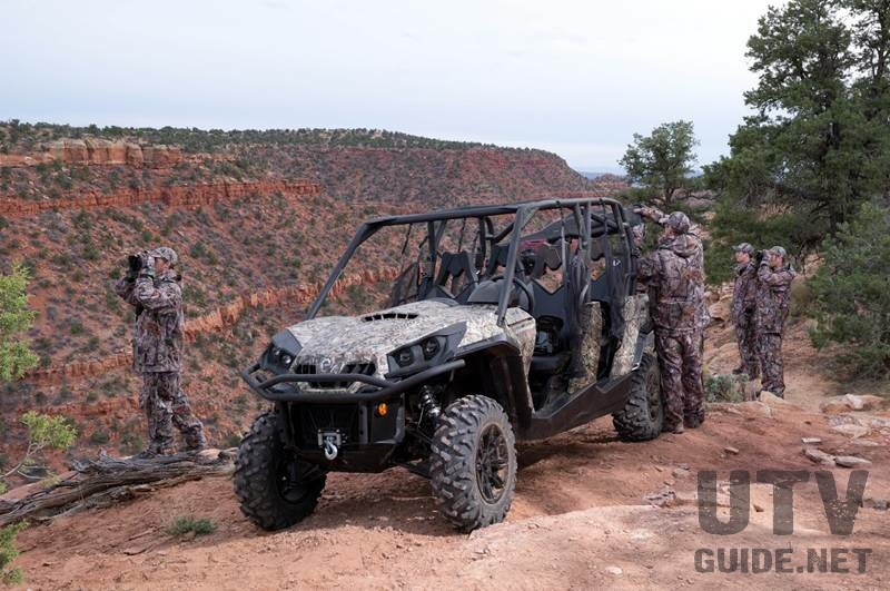 Can-Am Commander MAX Camo