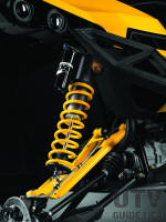 FOX Podium X Performance RC 2.5 piggyback shocks