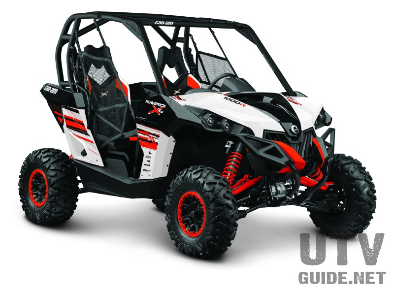 Can-Am Maverick X rs DPS - White