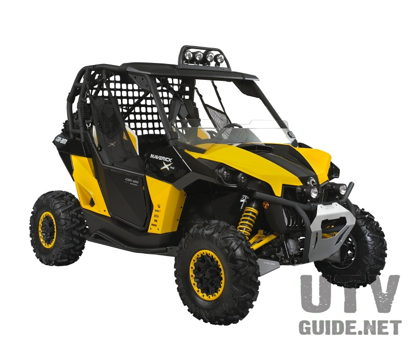 Factory Accessories Available for the Can-Am Maverick