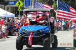 Polaris RANGER EV in the 4th of July Parade