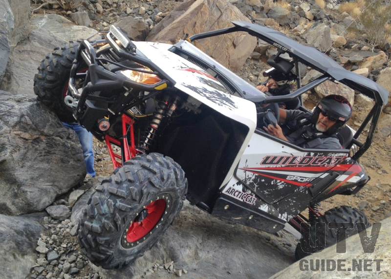 RZR S 900 vs. Wildcat Sport at the 2015 King of the ...