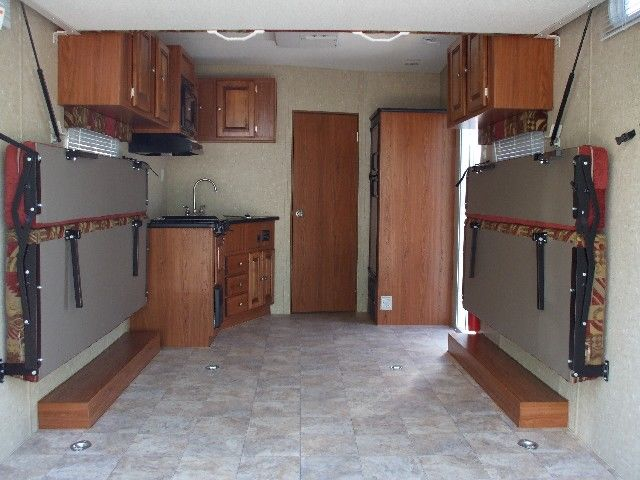 Cargo Area is 113″ to the first cabinet on the left. Then once you ...