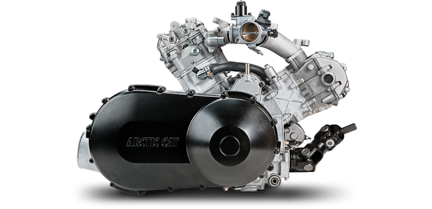 1000 H2 V-Twin 4-Stroke Engine w/EFI