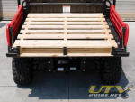 Honda Big Red - 500-pound capacity steel tilt bed