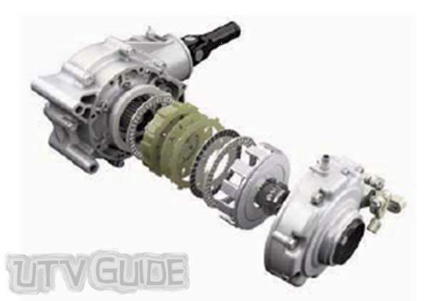 Kawasaki Teryx - Variable Front Differential