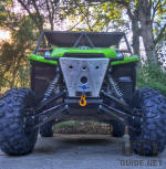 Kawasaki Teryx Long Travel Suspension