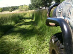 Field Mowing with John Deere Gator XUV 825i