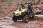 Can-Am Commander on Cliff Hanger Trail, Moab