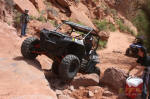 Walker Evans Racing Polaris RZR XP on Cliff Hanger Trail, Moab