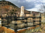 Silver Terrace Cemetary in Virginia City