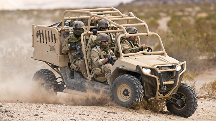 Military Lightweight Tactical All Terrain Vehicles