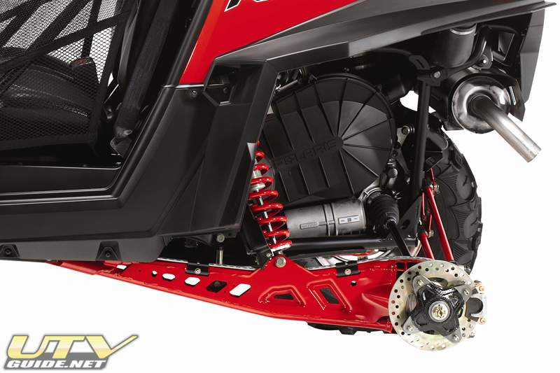 Polaris RZR XP Trailing Arm Suspension