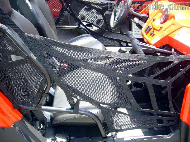 Polaris RZR - Leg Nets