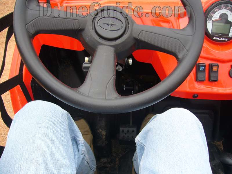 Polaris RZR Leg Room
