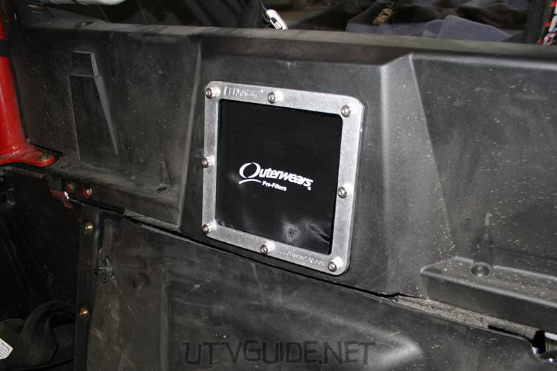 Polaris RZR Airbox Cover with Outerwear