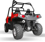 Polaris RZR Exhaust - HMF Dual Pipe