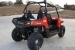 Stock Polaris RZR - Before Long Travel Suspension