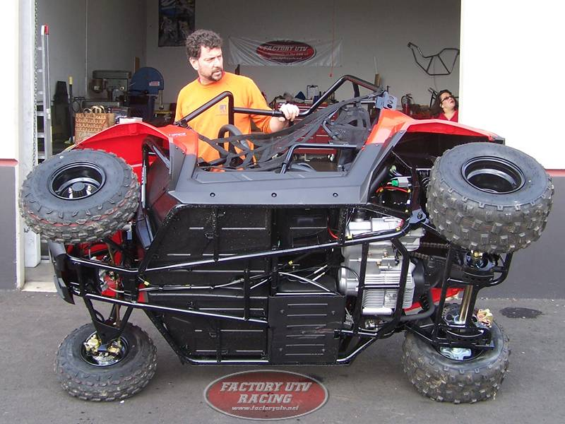 Polaris RZR 170 - No Skid Plate
