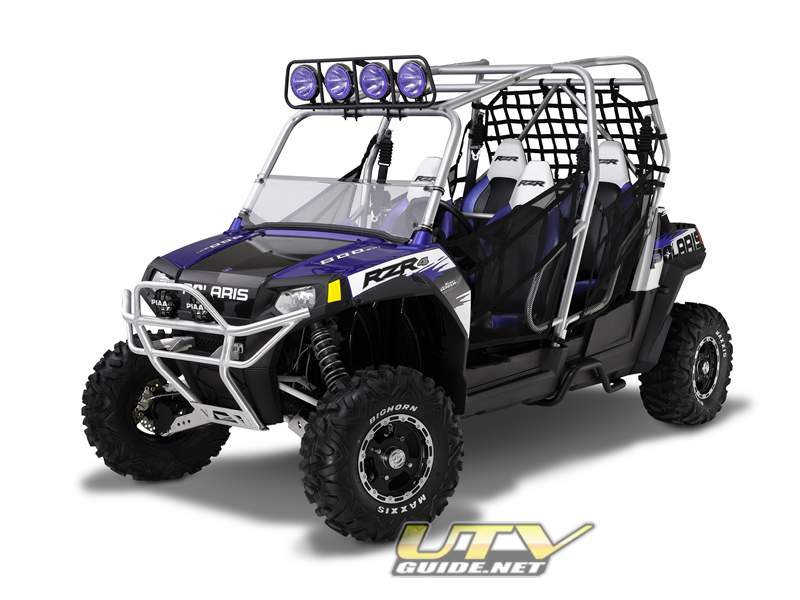 PURE Polaris Rear Step for RZR 4