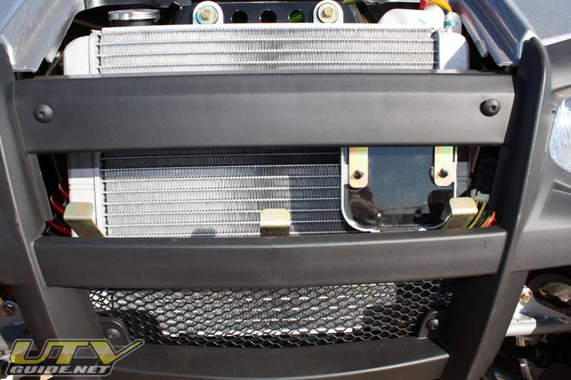 RZR S - Rectifier has been moved to improve cooling