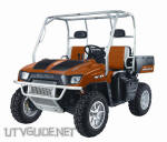 2008 Polaris Ranger LE - Orange Crush Rally
