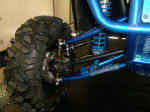 Polaris Ranger with Long Travel Suspension from Morphic Industries