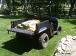 "Polaris RANGER EV with ""Turf Mode"""
