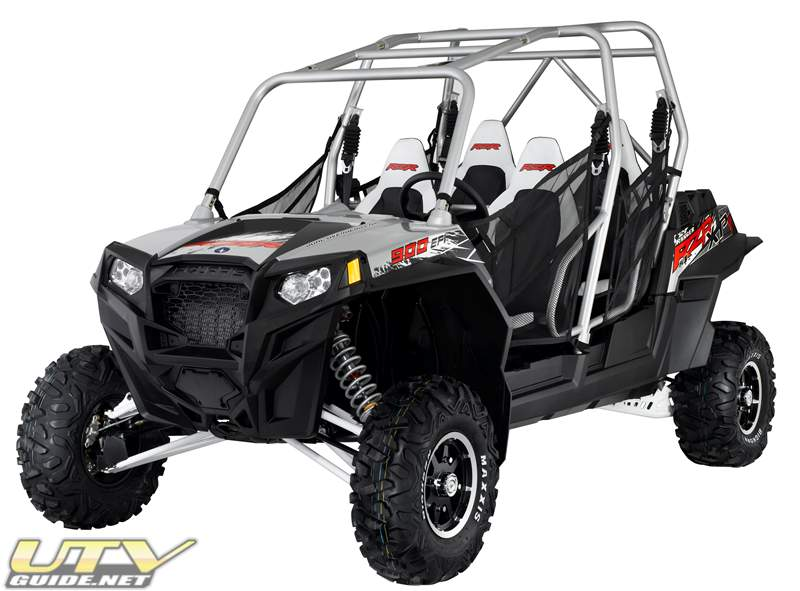 2012 Polaris RZR XP 4 900 Liquid Silver LE
