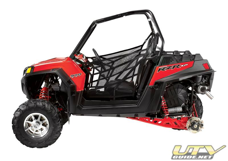 Polaris RZR 900 XP with 3-link rear suspension