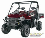 2011 Polaris RANGER XP 800 Crimson Red