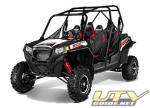 2013 Polaris RZR XP 4 900 EPS Black/White/Red LE