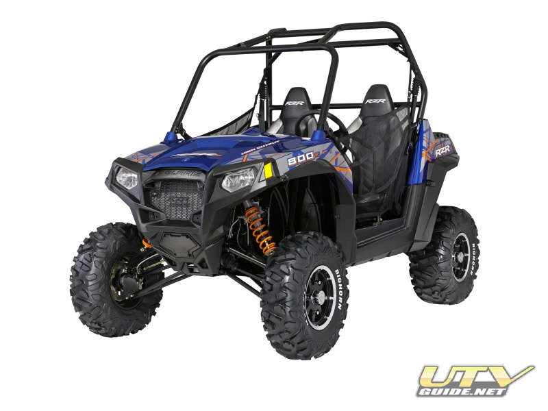 2013 Polaris RZR S Blue Fire/Orange LE