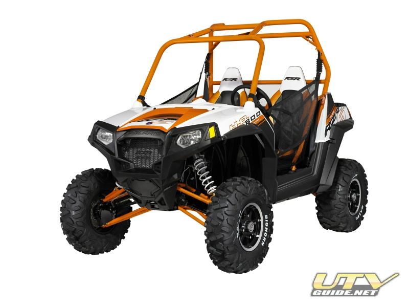 2013 Polaris RZR S Orange/White LE