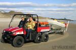 Polaris Ranger 6x6 - Salter Path Beach Patrol & Rescue