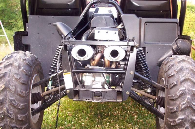 Hushpower Exhaust Yamaha Viking