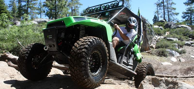 Kawasaki Teryx on the Rubicon Trail - July 2011