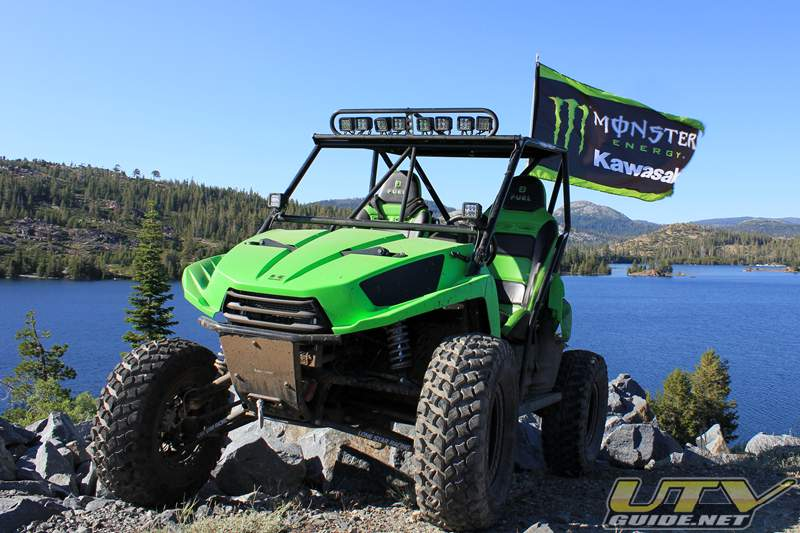 Monster Energy Kawasaki Teryx on the Rubicon Trail