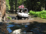 UTV run on the Rubicon Trail - Big Sluice