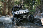 UTV run on the Rubicon Trail - Cadillac Hill