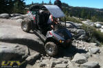 Side x Side Vehicle on the Rubicon Trail