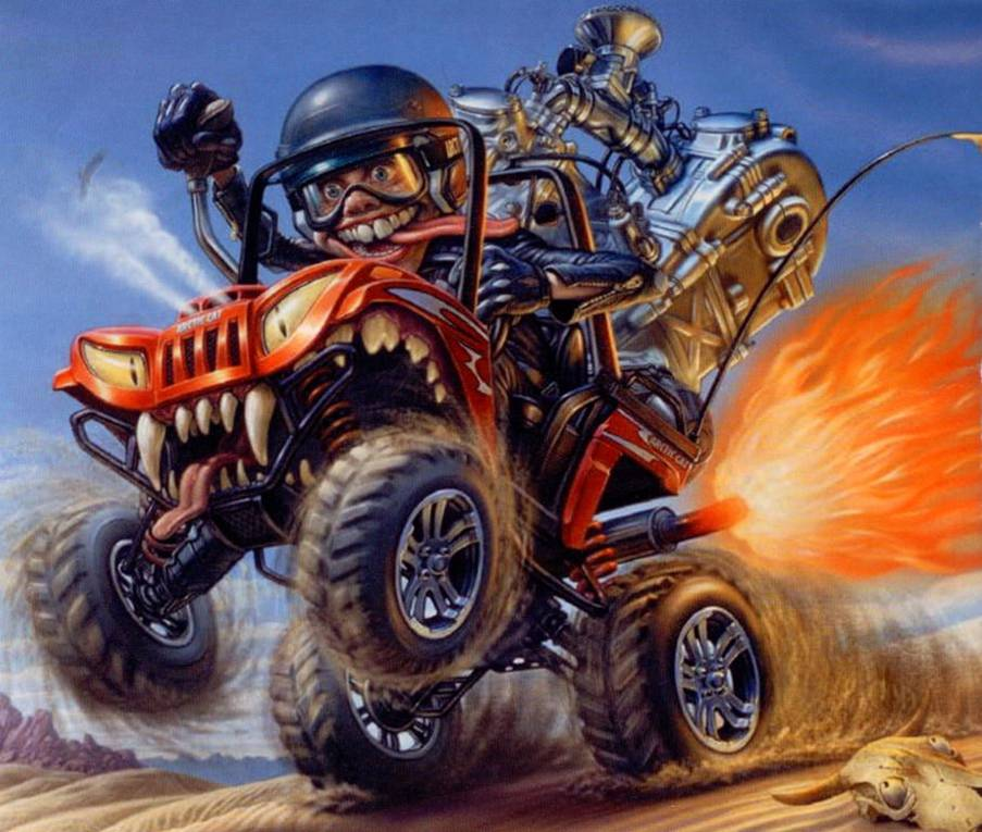Arctic Cat Prowler 1000 Cartoon