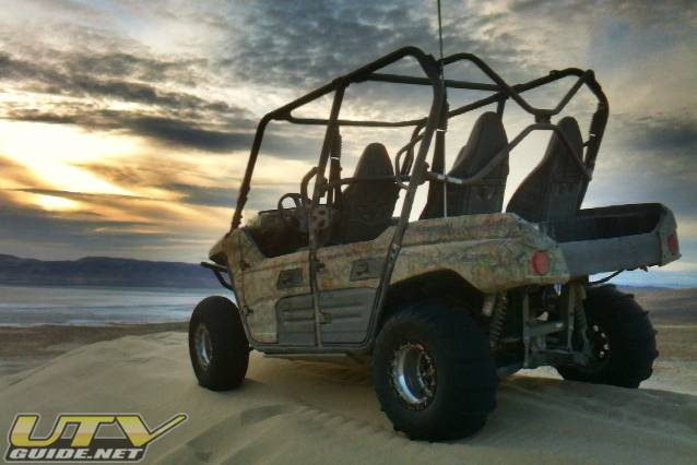 Kawasaki - Impressed with the power the Teryx4 puts down
